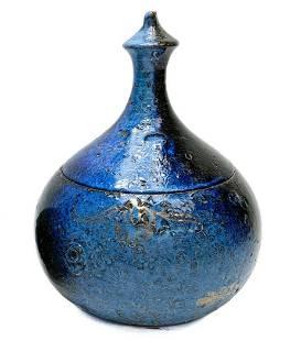 Bijorn Wiinblad Blue Pottery Magic Flute Zauberflote