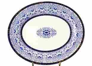 Large Royal Worcester Lily Serving Platter