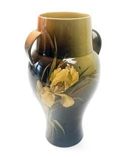 Rookwood Pottery Albert Valentine Floral Vase.