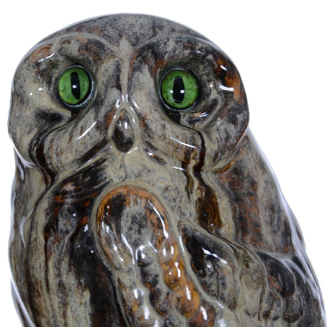 """Superb! 13"""" Signed Emile Galle French Art Pottery Figur - 5"""