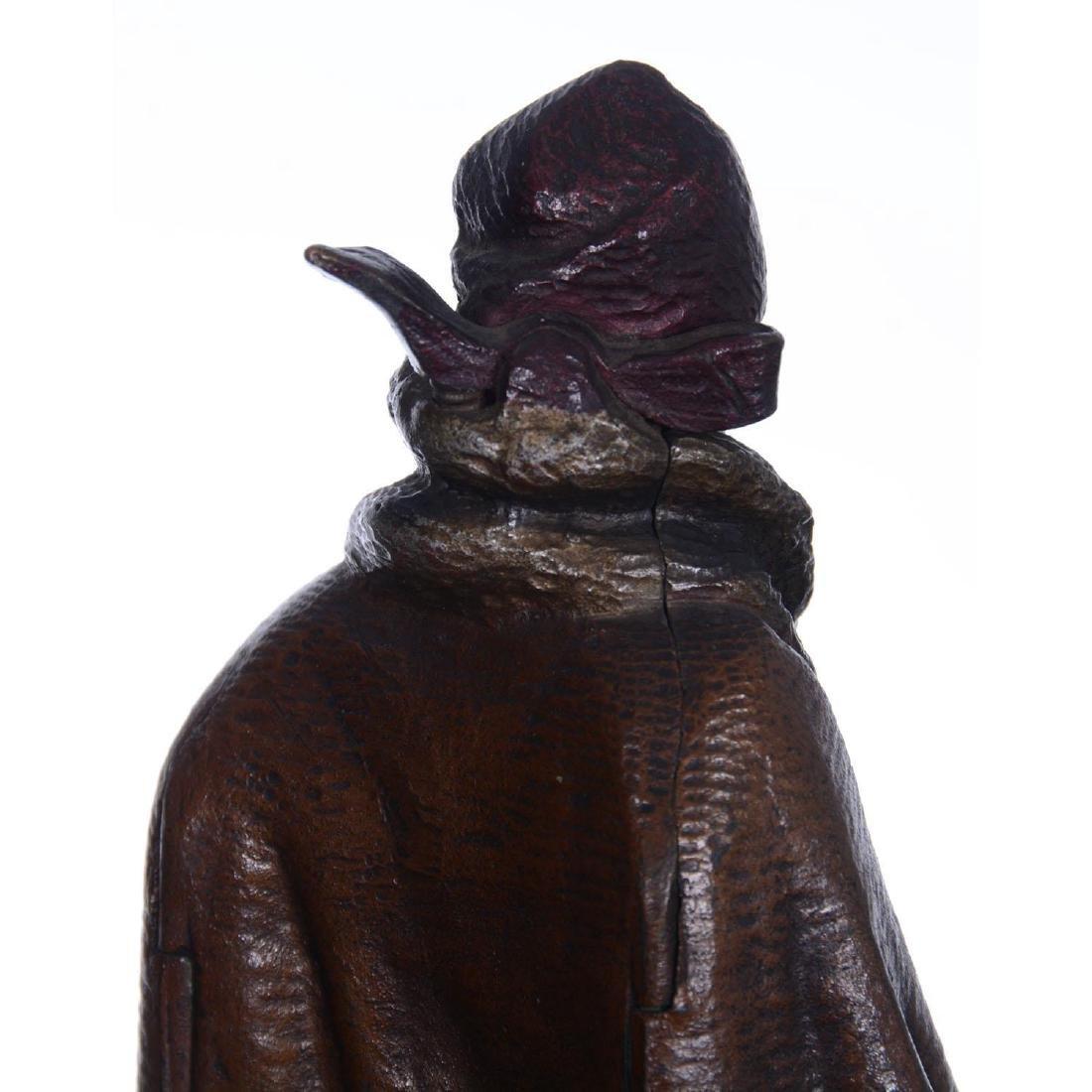 """9.25"""" Austrian Bronze Mechanical Statue - 6"""