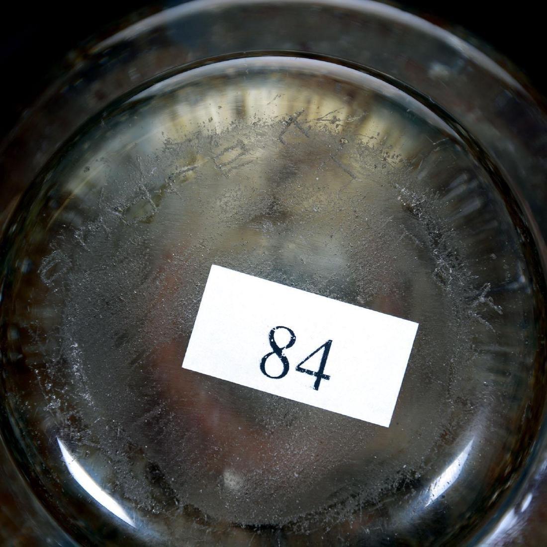 "6.5"" X 6"" Signed ""Andre Thuret"" French Art Glass Vase - 3"