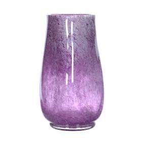 """9.75"""" X 4.5"""" Unmarked Schneider Style French Art Glass"""
