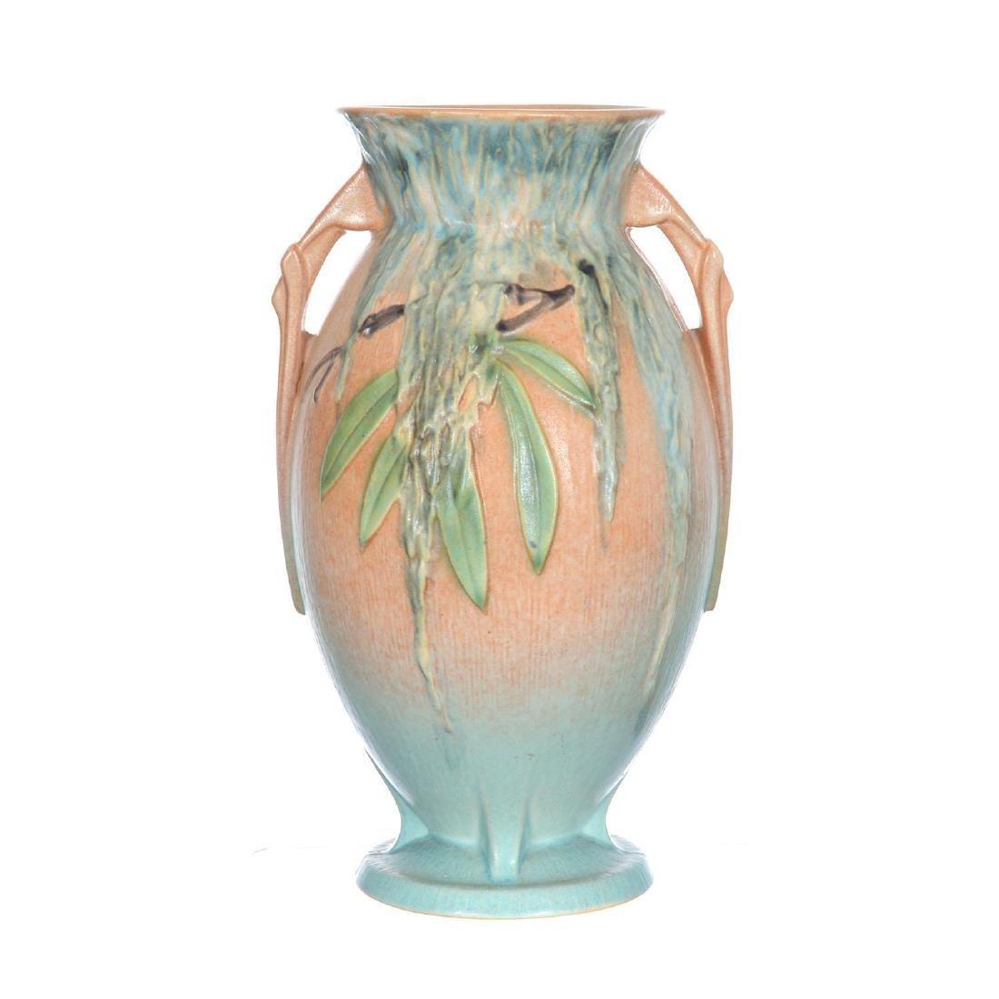 """Roseville Art Pottery #784-10"""" Two-Handled Vase"""