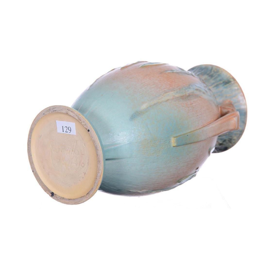 """Roseville Art Pottery #784-10"""" Two-Handled Vase - 2"""
