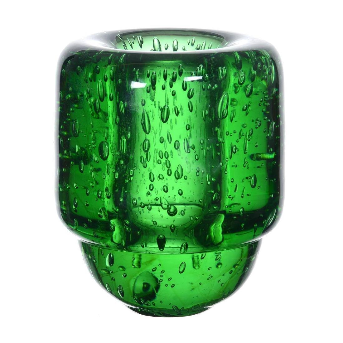 """5.75"""" X 4.75"""" Signed """"Marinot"""" French Art Glass Vase"""