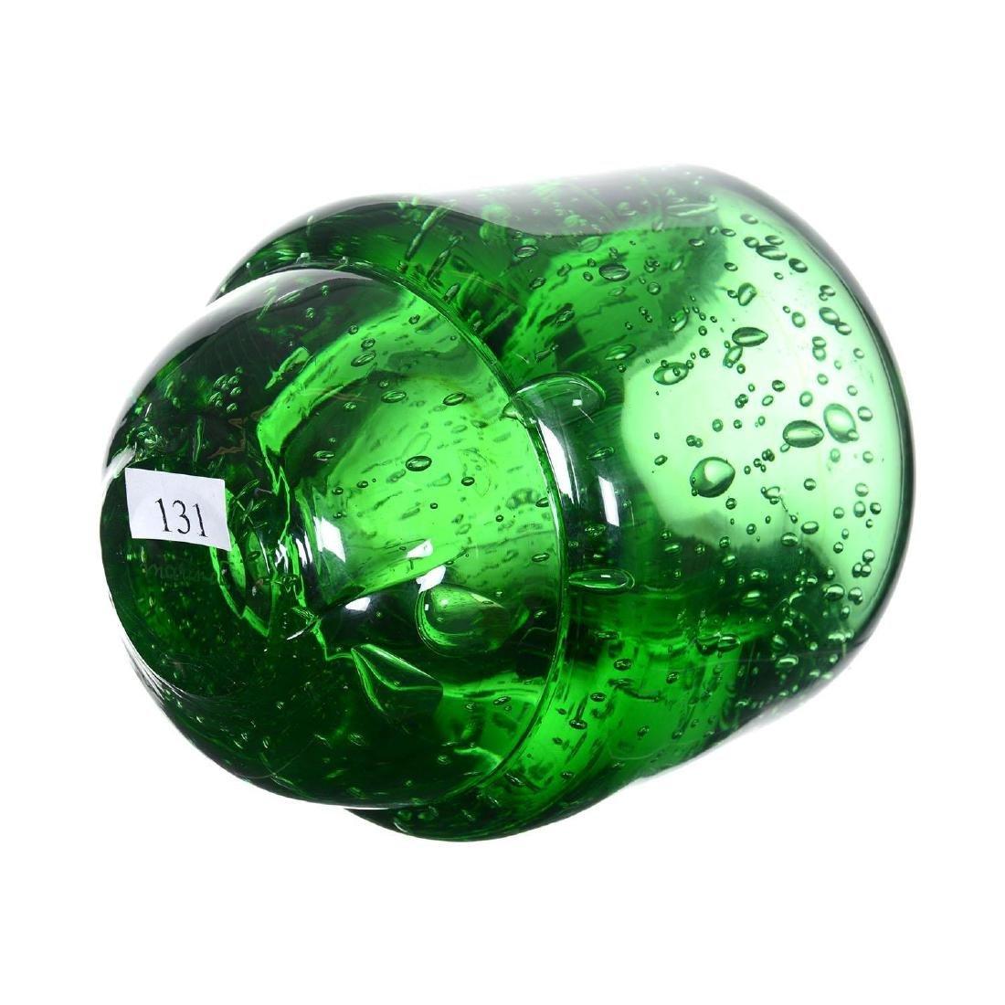 """5.75"""" X 4.75"""" Signed """"Marinot"""" French Art Glass Vase - 2"""
