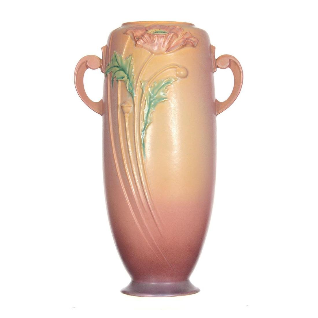 "Roseville Art Pottery #879-18"" Vase - 2"