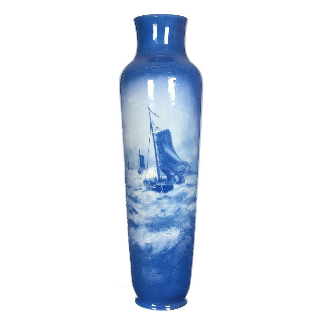 "19.25"" Roseville Rozane Art Pottery Vase"