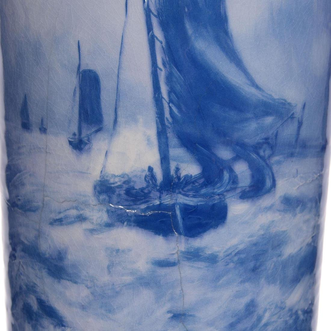 "19.25"" Roseville Rozane Art Pottery Vase - 2"