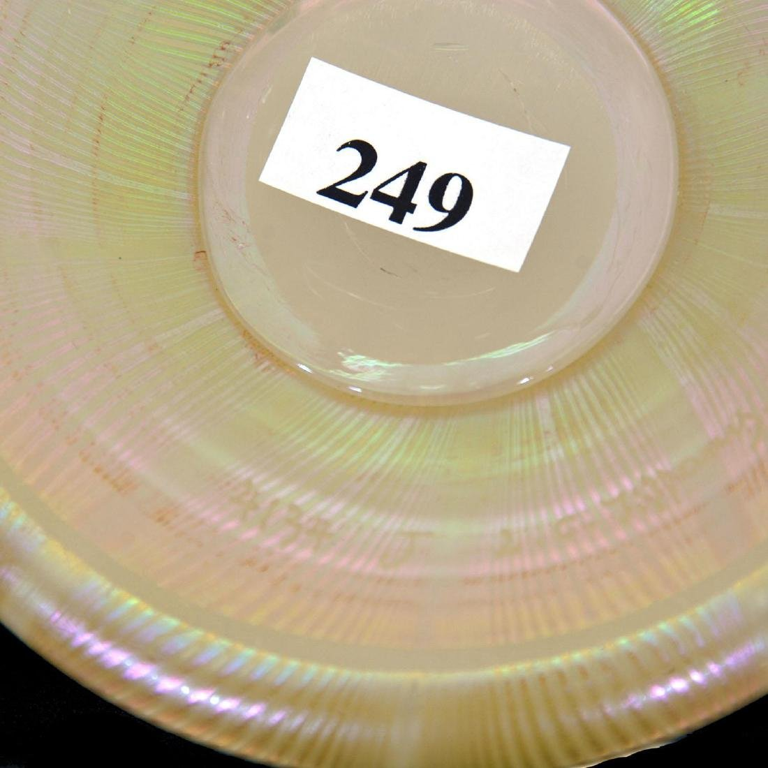 "12"" Signed ""L.C.Tiffany-Favrile #4134J"" Art Glass Bud V - 3"