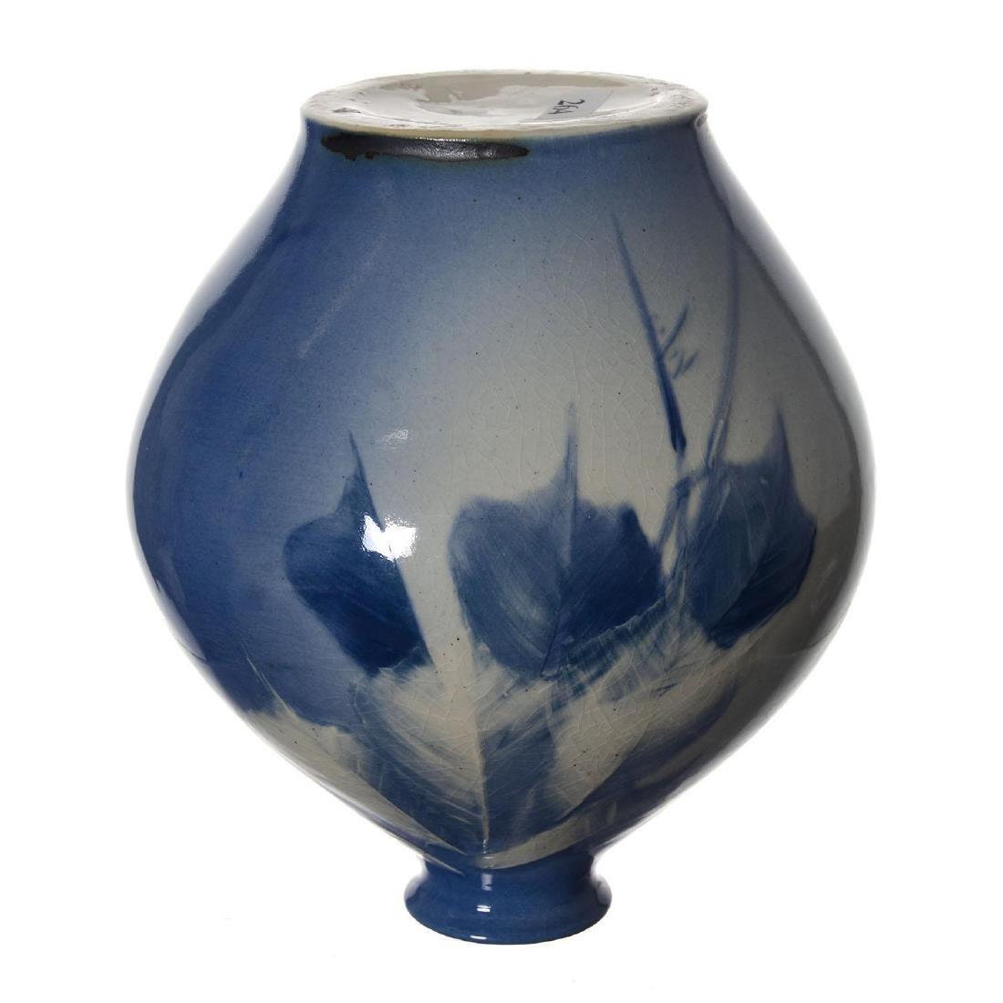 "8"" X 7"" Roseville Rozane Art Pottery Vase - 3"