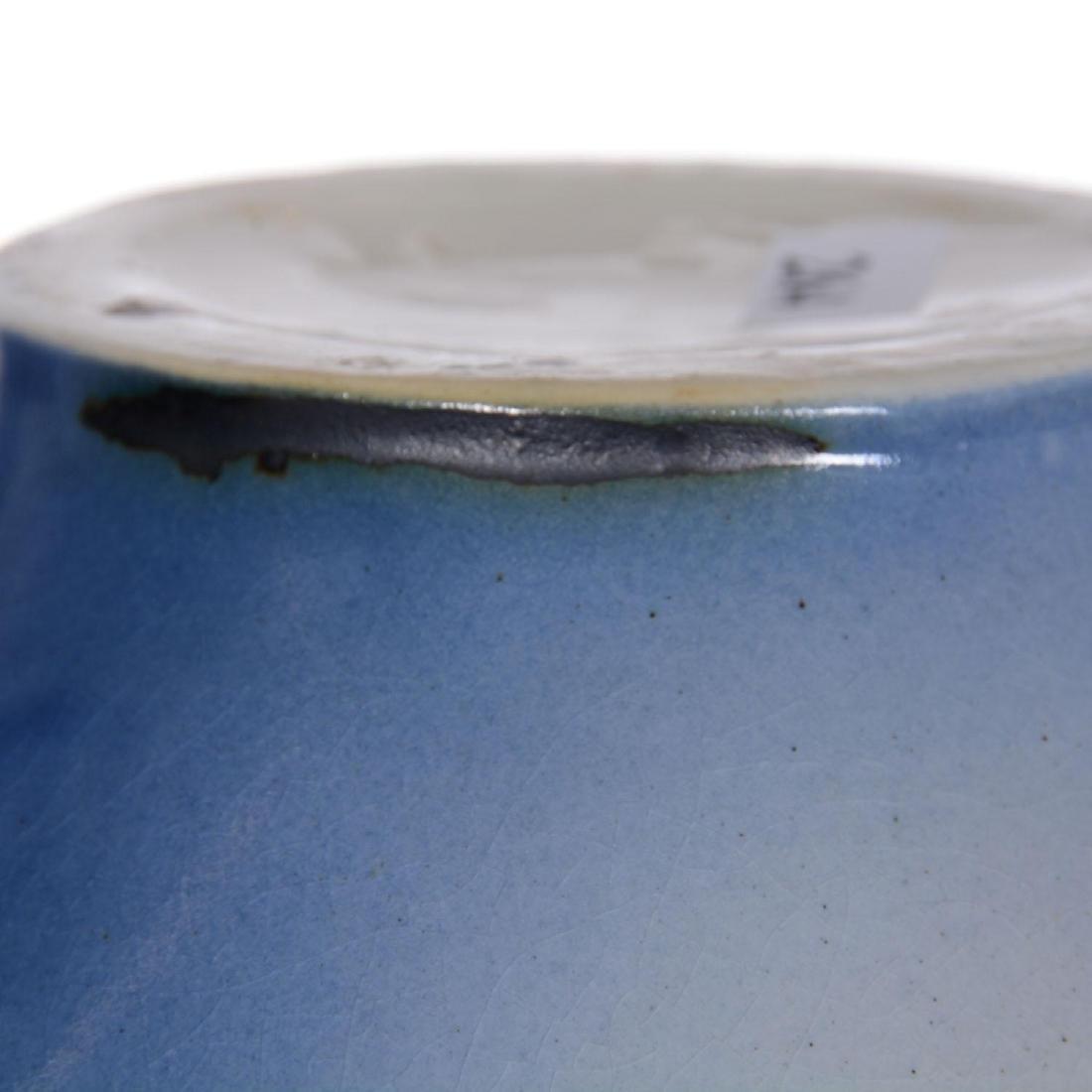 "8"" X 7"" Roseville Rozane Art Pottery Vase - 4"