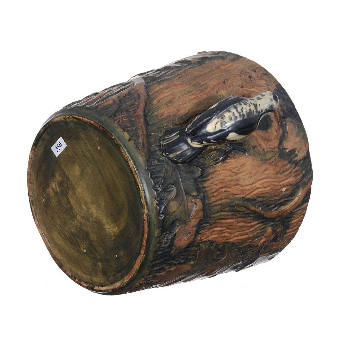"9.5"" X 11"" Marked Weller Art Pottery Jardiniere - 3"