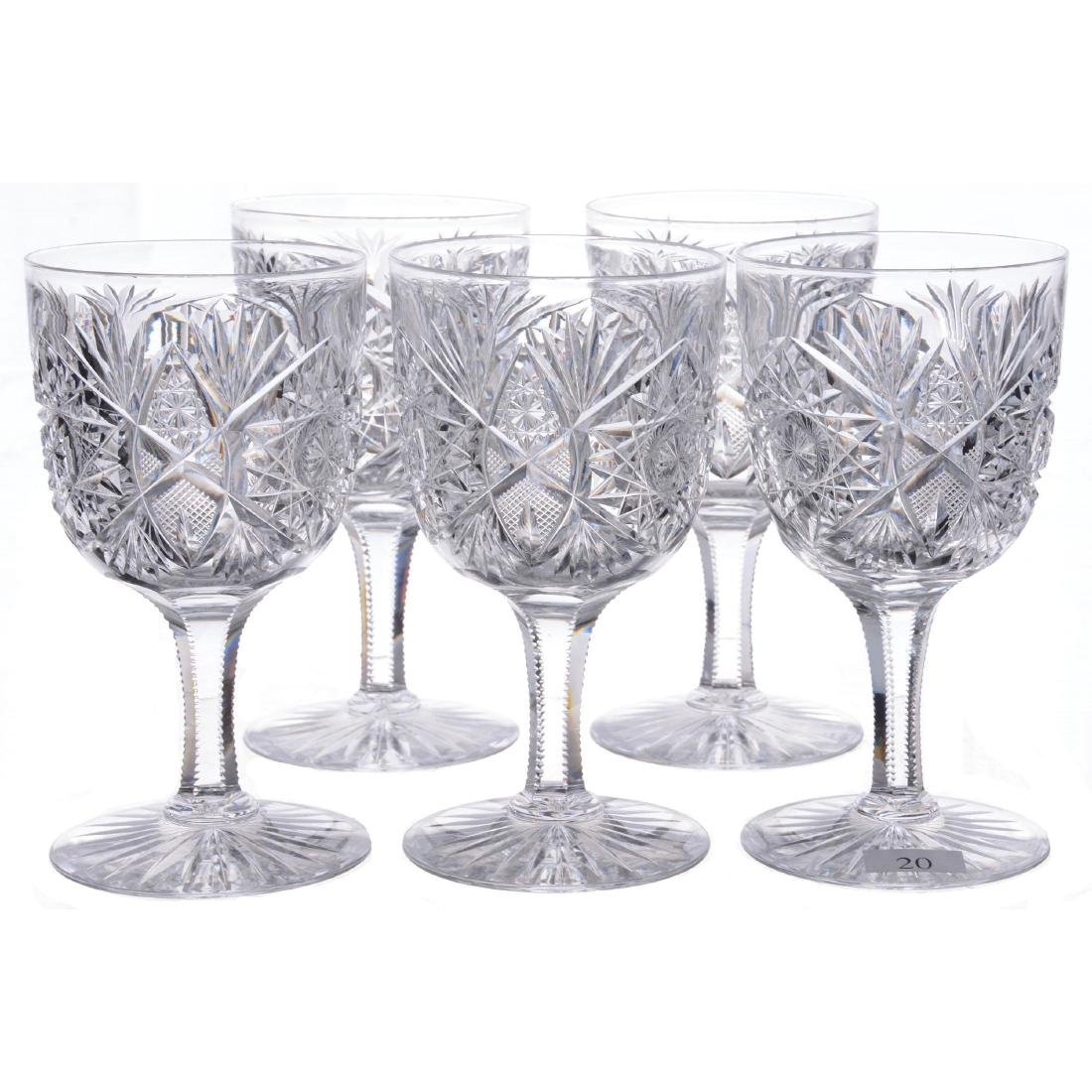 """(10) Water Goblets - 6.25"""" - ABCG"""