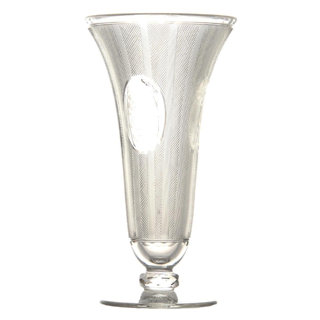 "Pedestal Vase - 10"" - ABCG"