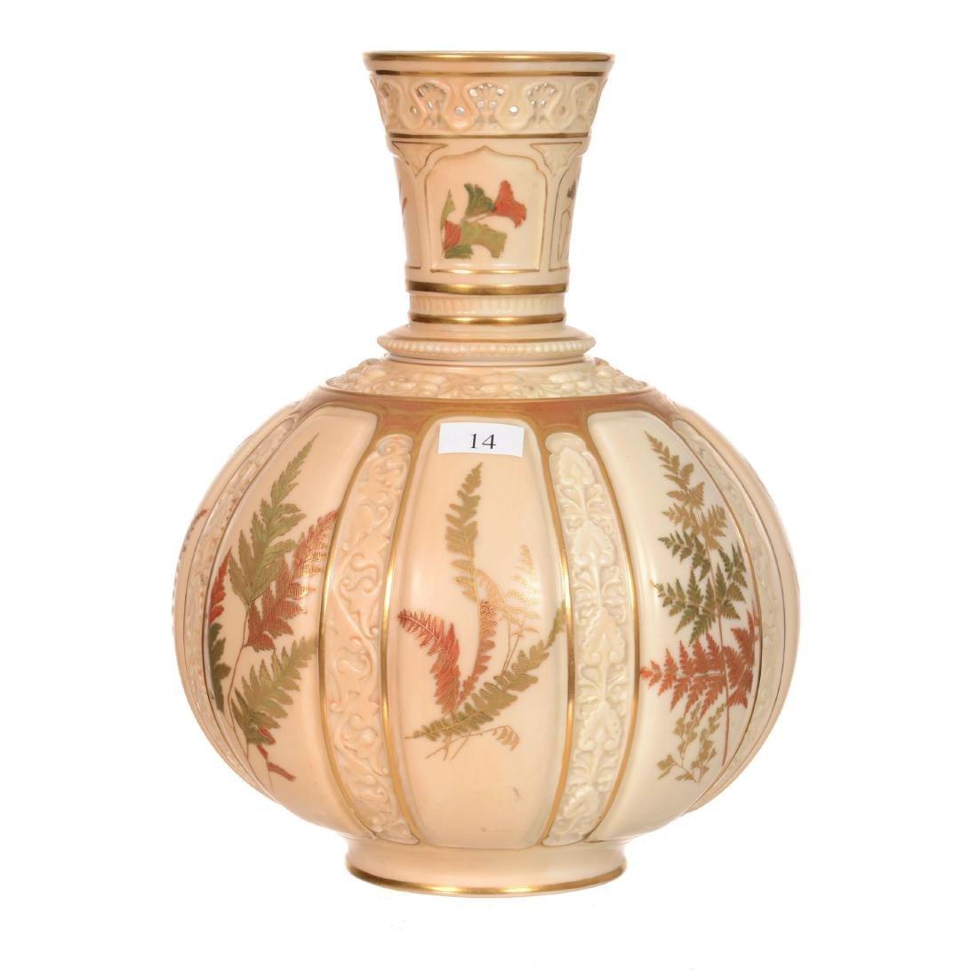 """10.25"""" Royal Worcester #1331 Vase"""