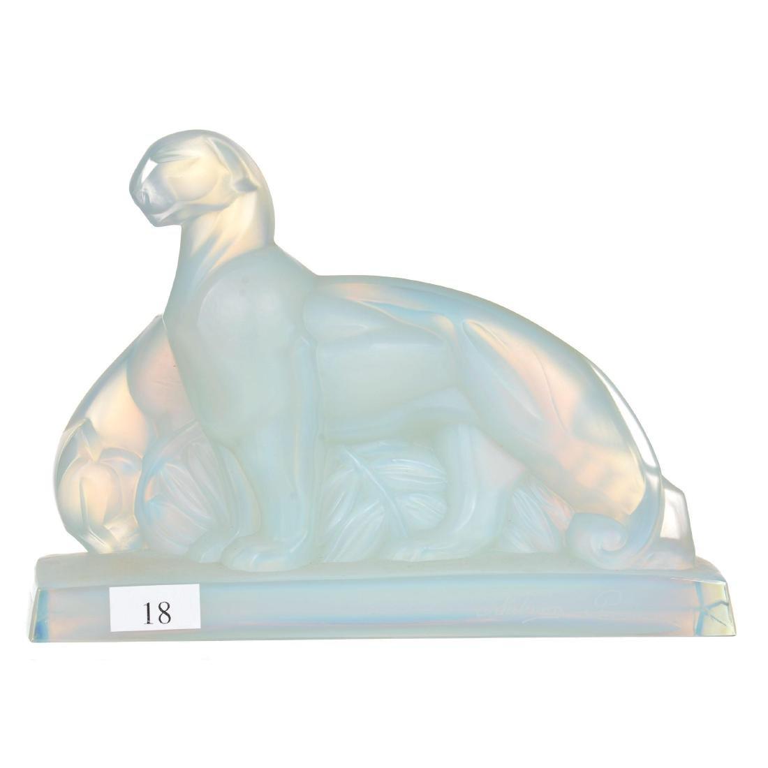 """5.75"""" X 8"""" Marked Sabino Paris Figural Group"""