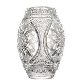 "American Brilliant Cut Glass Vase - 7.5"""