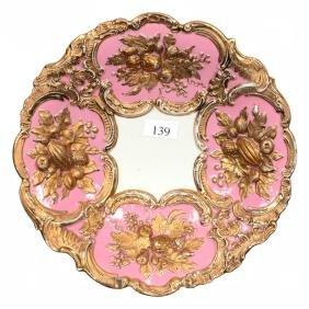 """8.25"""" Marked Meissen Plate"""