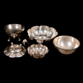 (6) Sterling Silver Bowls