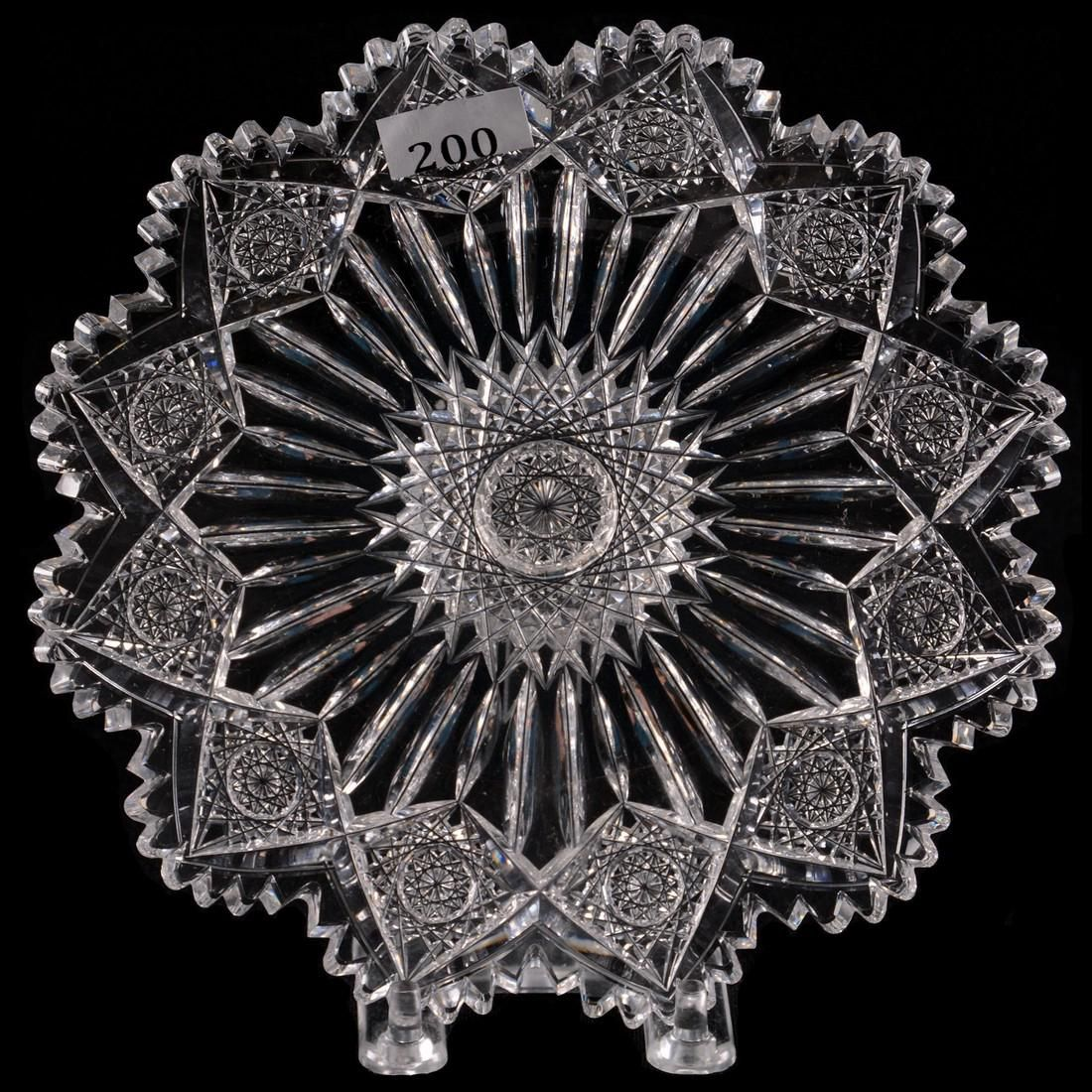 "Plate - 7.25"" - ABCGSigned Sinclaire Stars and Pillars"