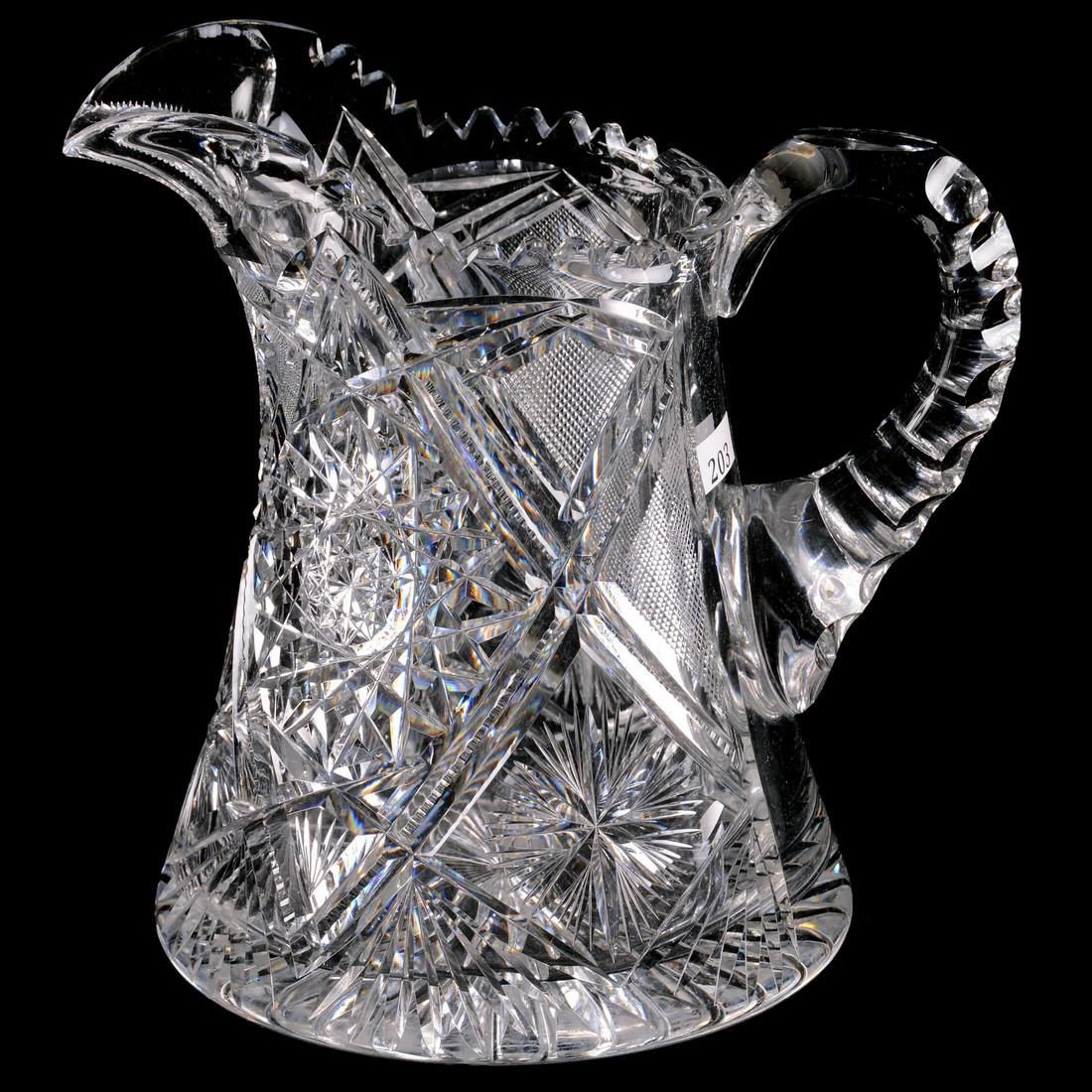 """Pitcher - 9"""" - ABCGFreedom Pattern by Fry - Small"""