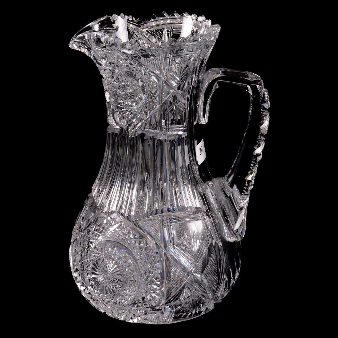 ABCG Water Pitcher - Alpine Pattern by J. Hoare