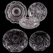 Five ABCG Bowls