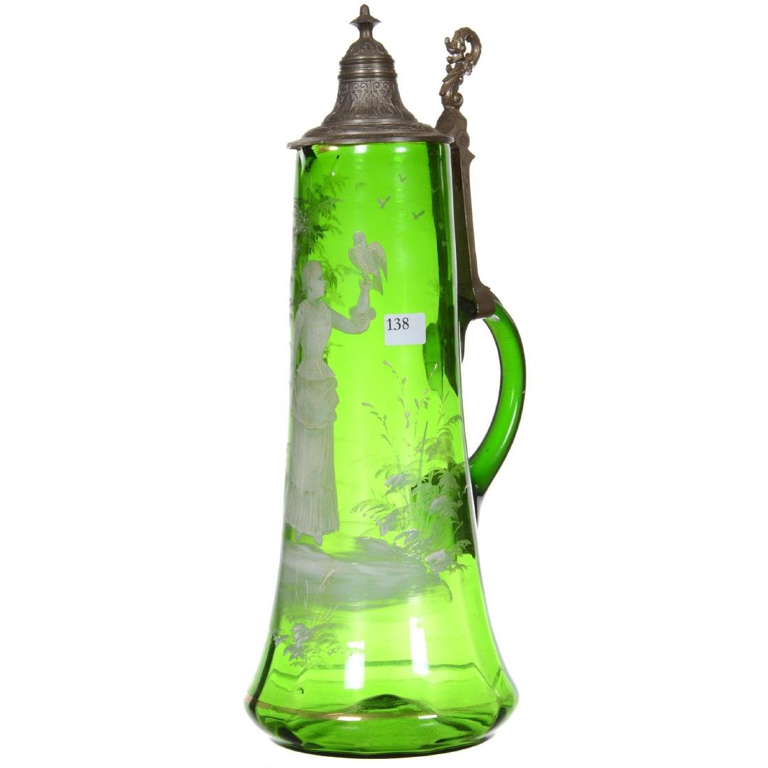 Art Glass Tankard