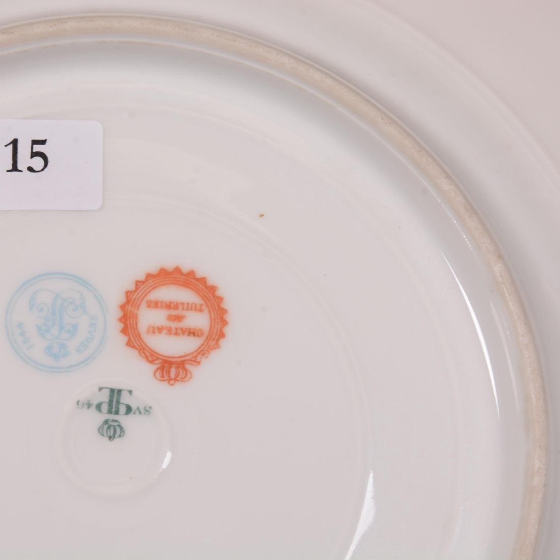 Marked Sevres Scenic Plate - 3