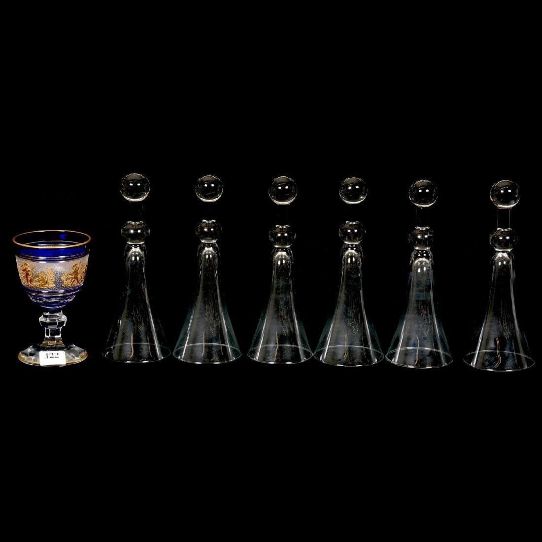 (7) Art Glass Items
