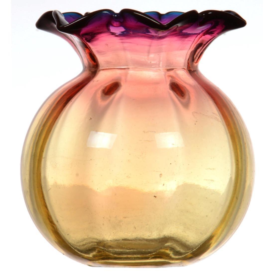 Rare Alexandrite Art Glass Vase