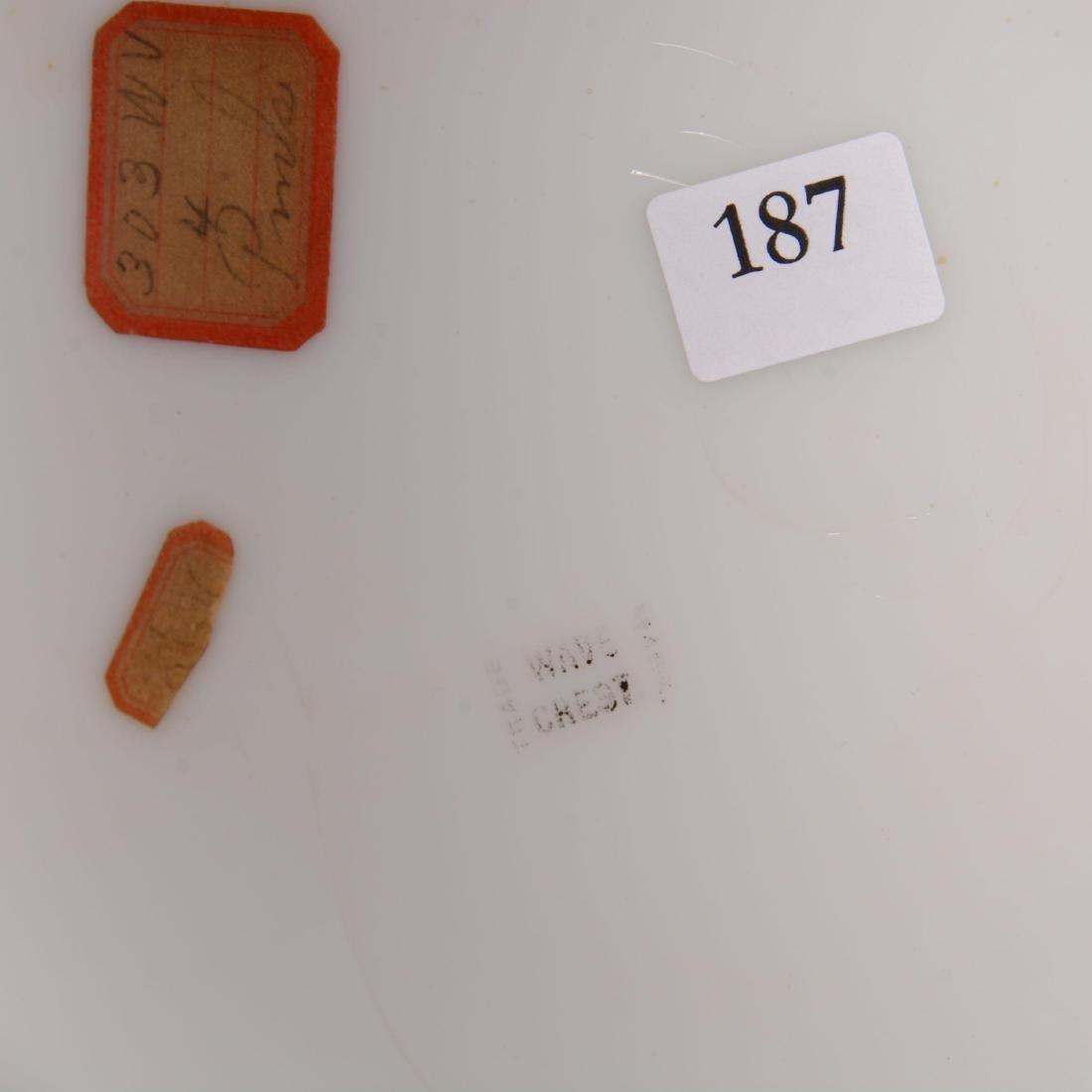 Wavecrest Hinged Round Dresser Box - 2