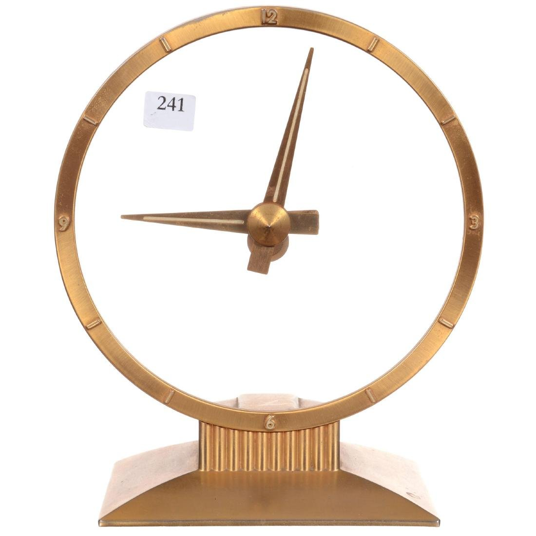 Jefferson Golden Hour Electric Desk Clock