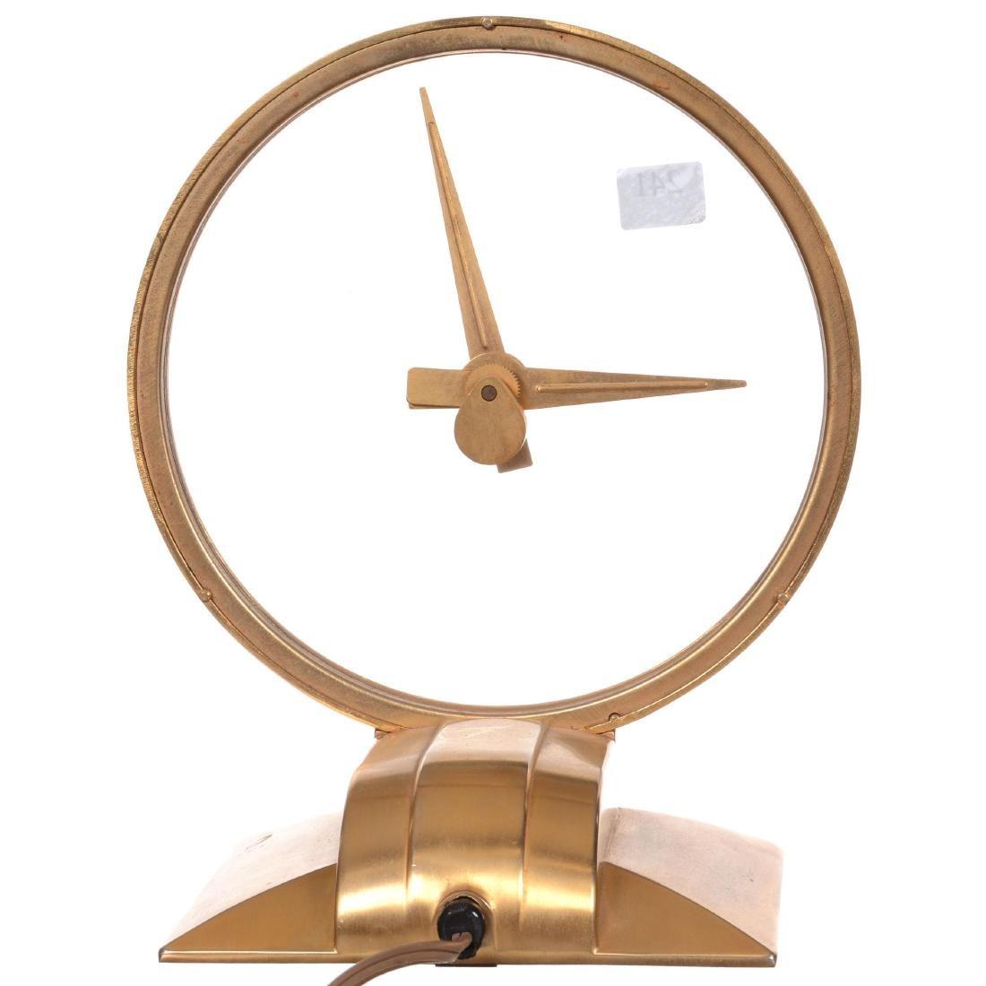 Jefferson Golden Hour Electric Desk Clock - 2