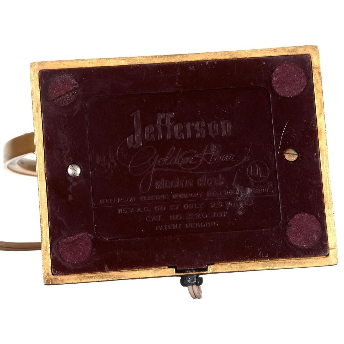 Jefferson Golden Hour Electric Desk Clock - 3