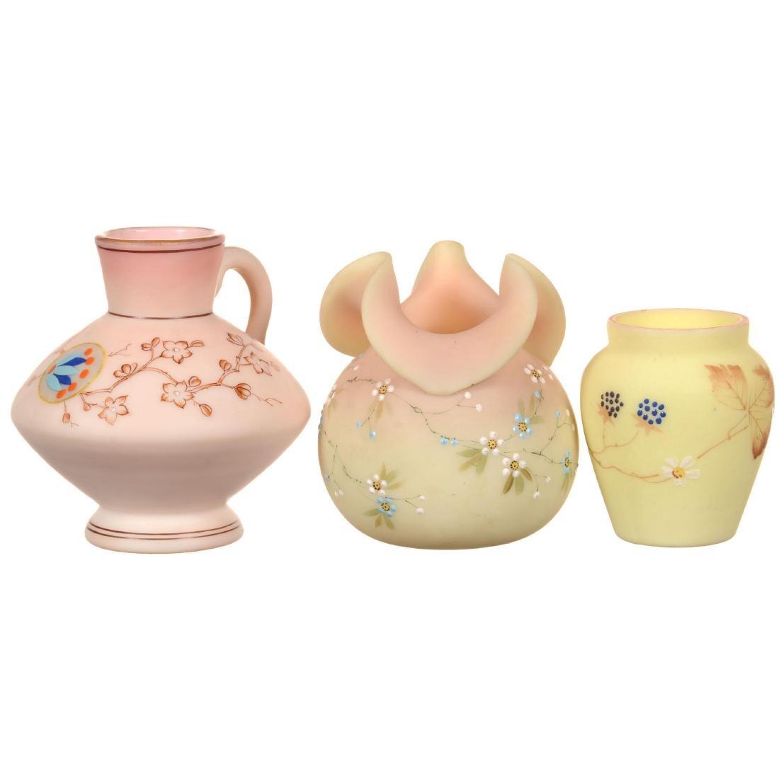 (3) Decorated Burmese Items