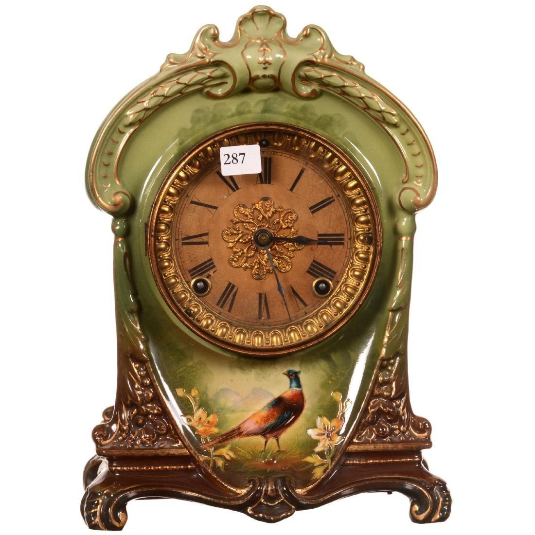Royal Bonn Mantel Clock