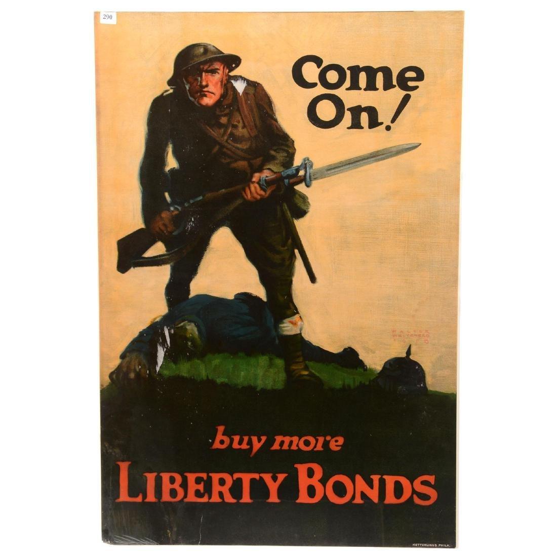 Vintage World War I Propaganda Poster