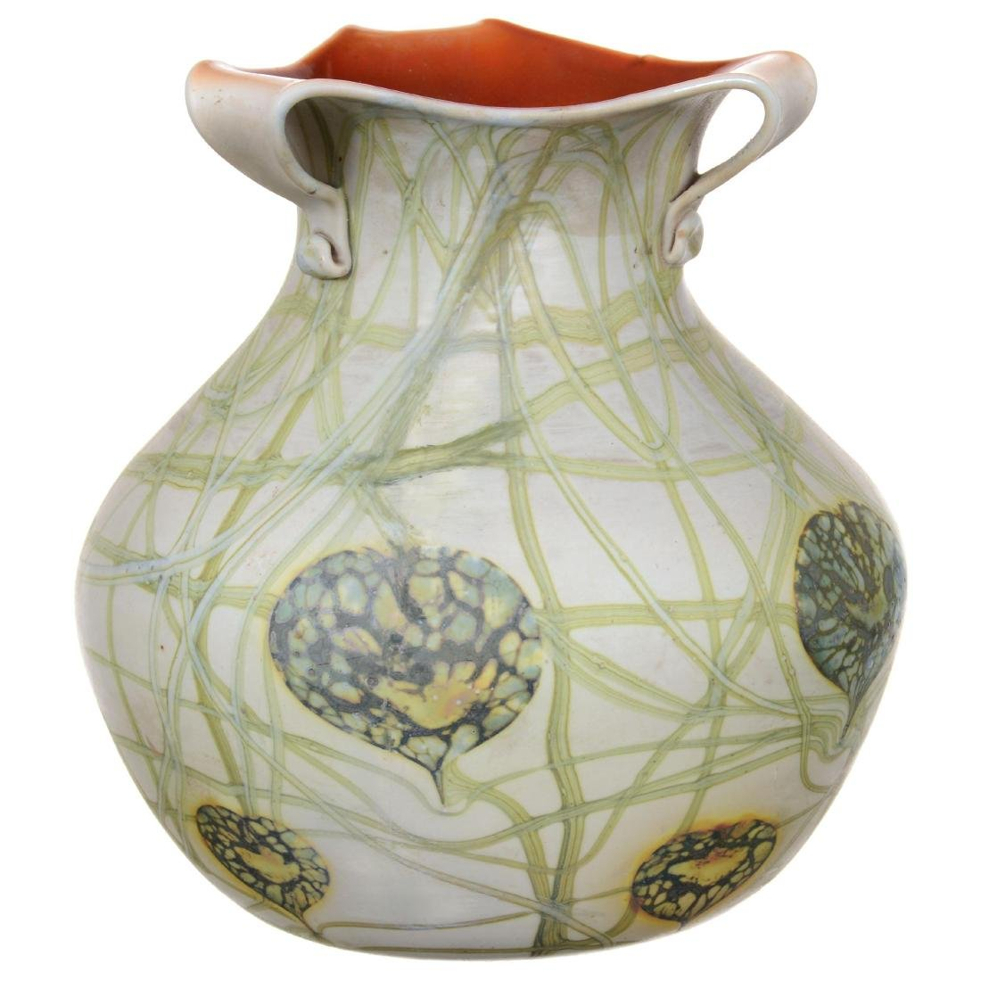 Unmarked Imperial Art Glass Vase