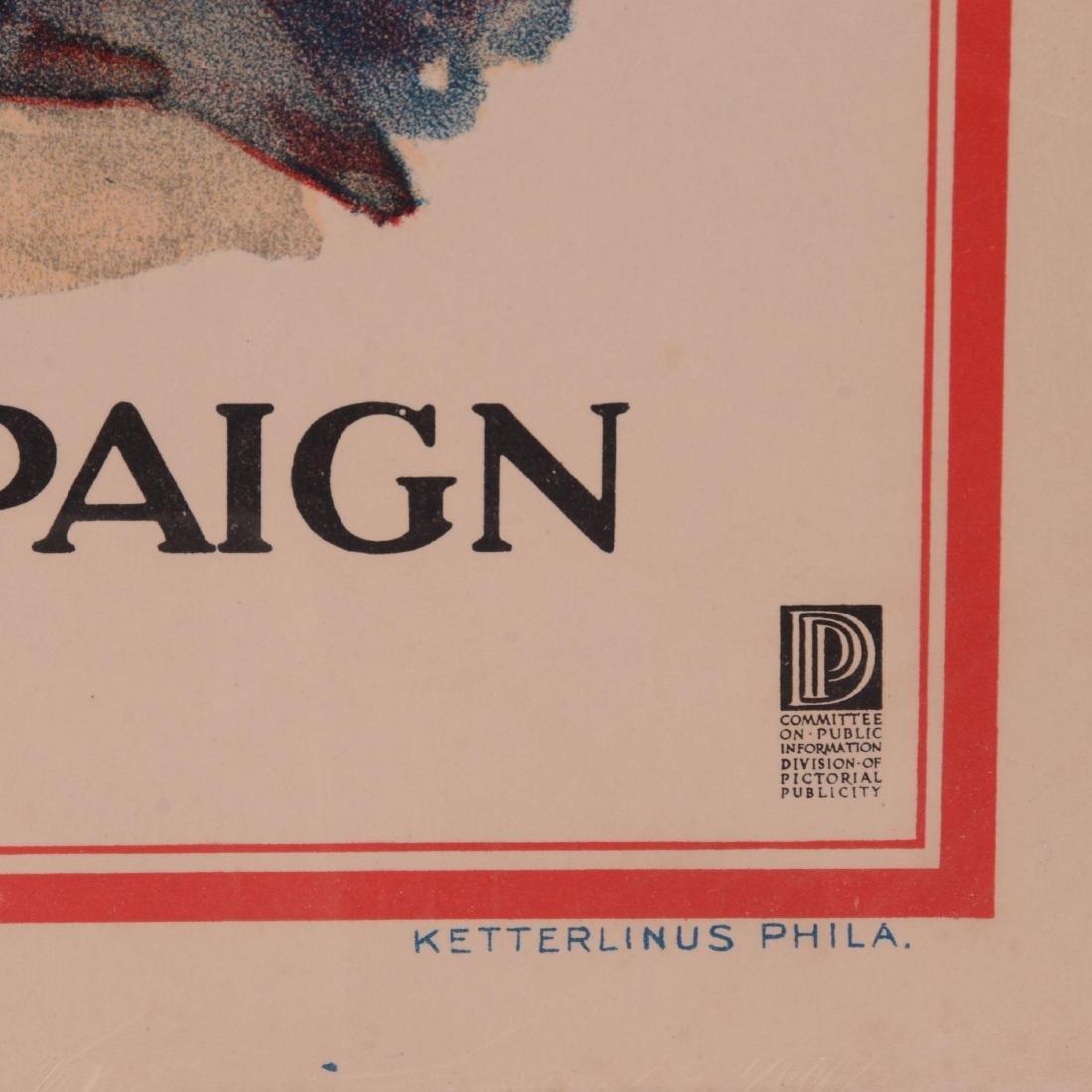 Vintage World War I Propaganda Poster - 2
