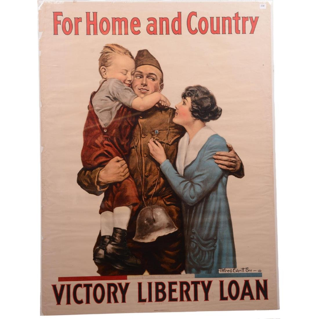Vintage World War I Propaganda Poster