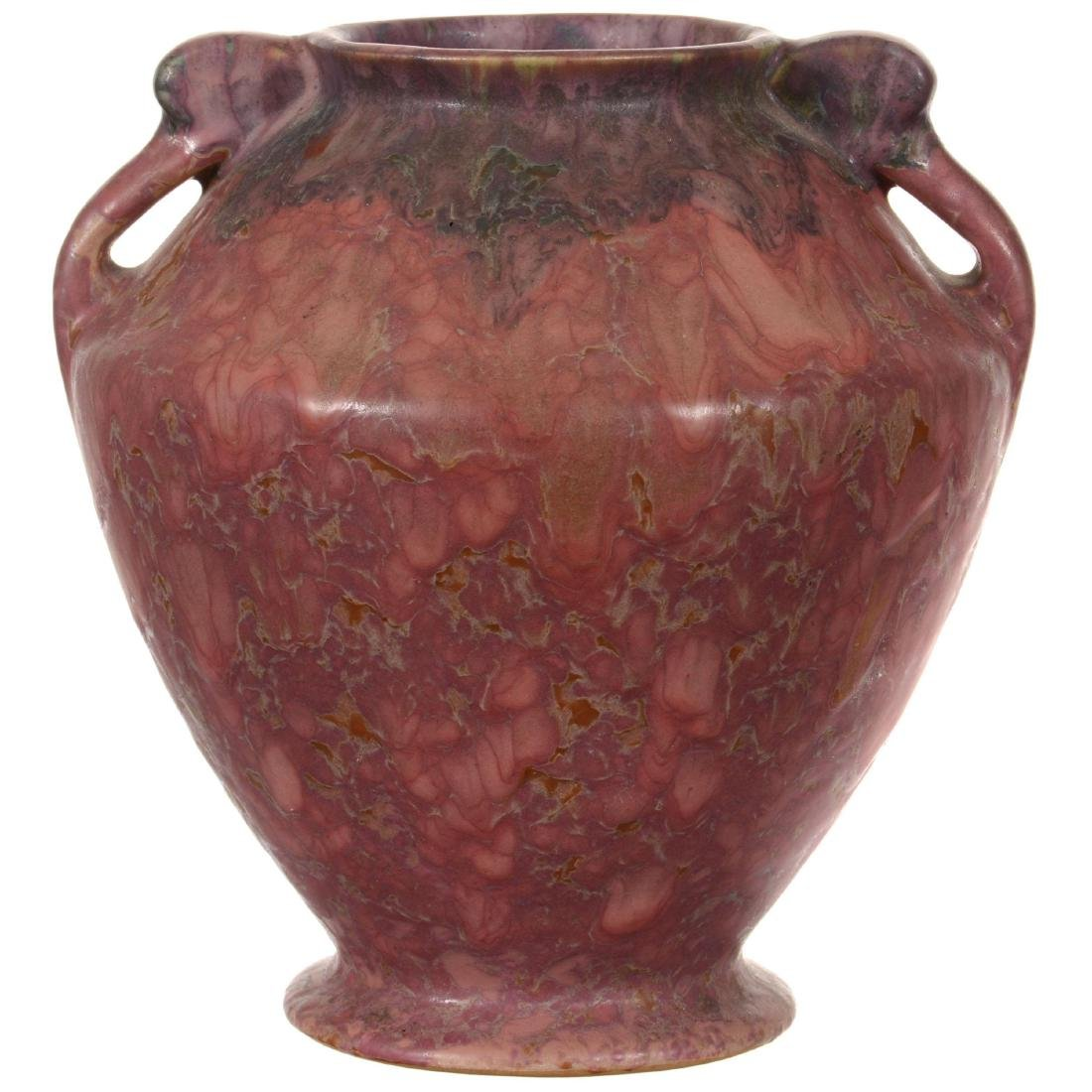 Unmarked Roseville Art Pottery Vase