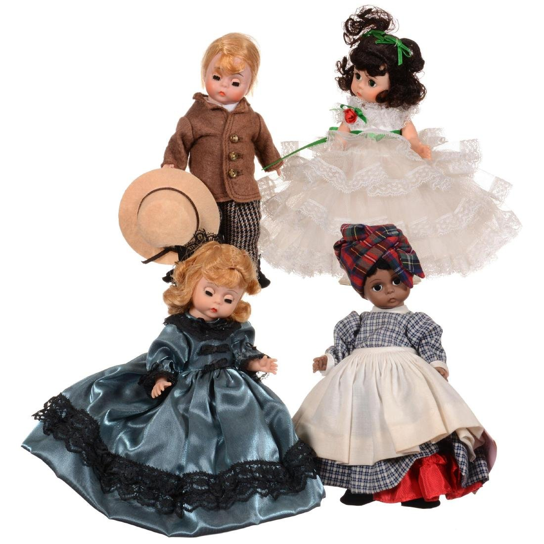 Ten Madame Alexander Dolls in Original Boxes