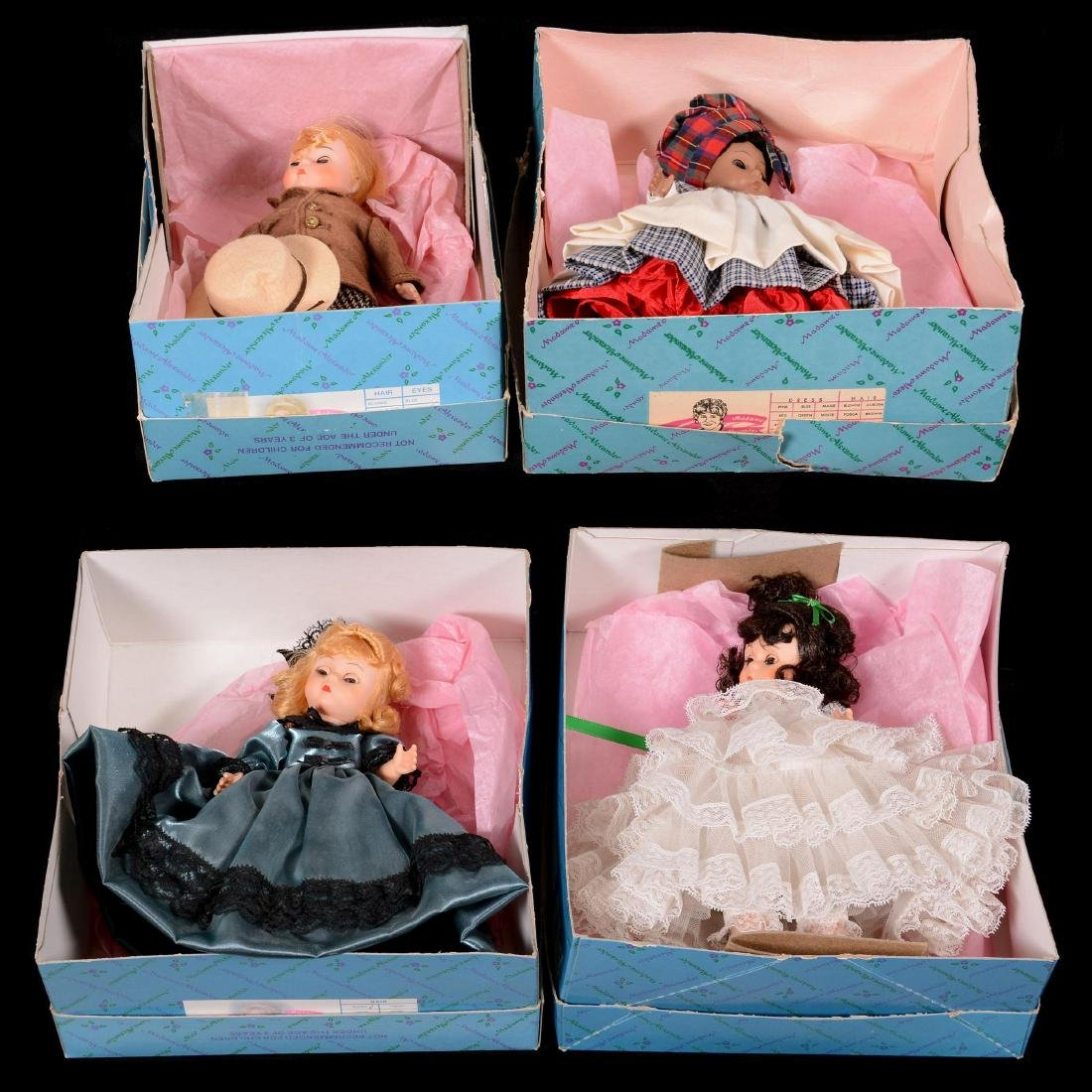 Ten Madame Alexander Dolls in Original Boxes - 2