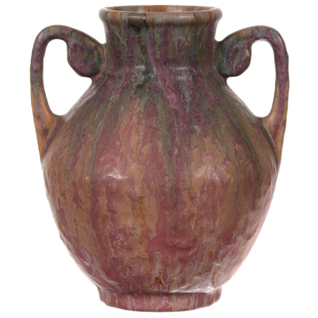 Unmarked Roseville Art Pottery Vase - 2