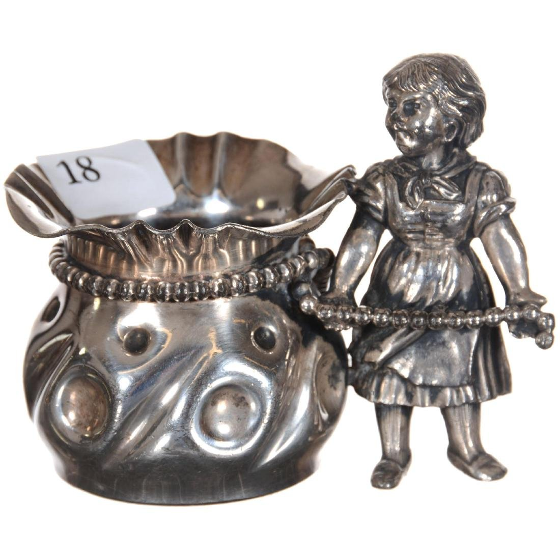 Silver-plate Toothpick Holder