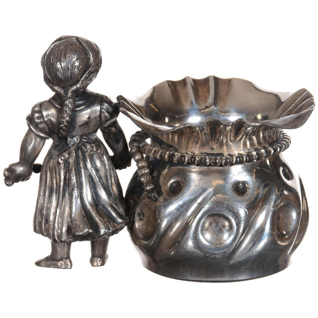 Silver-plate Toothpick Holder - 2