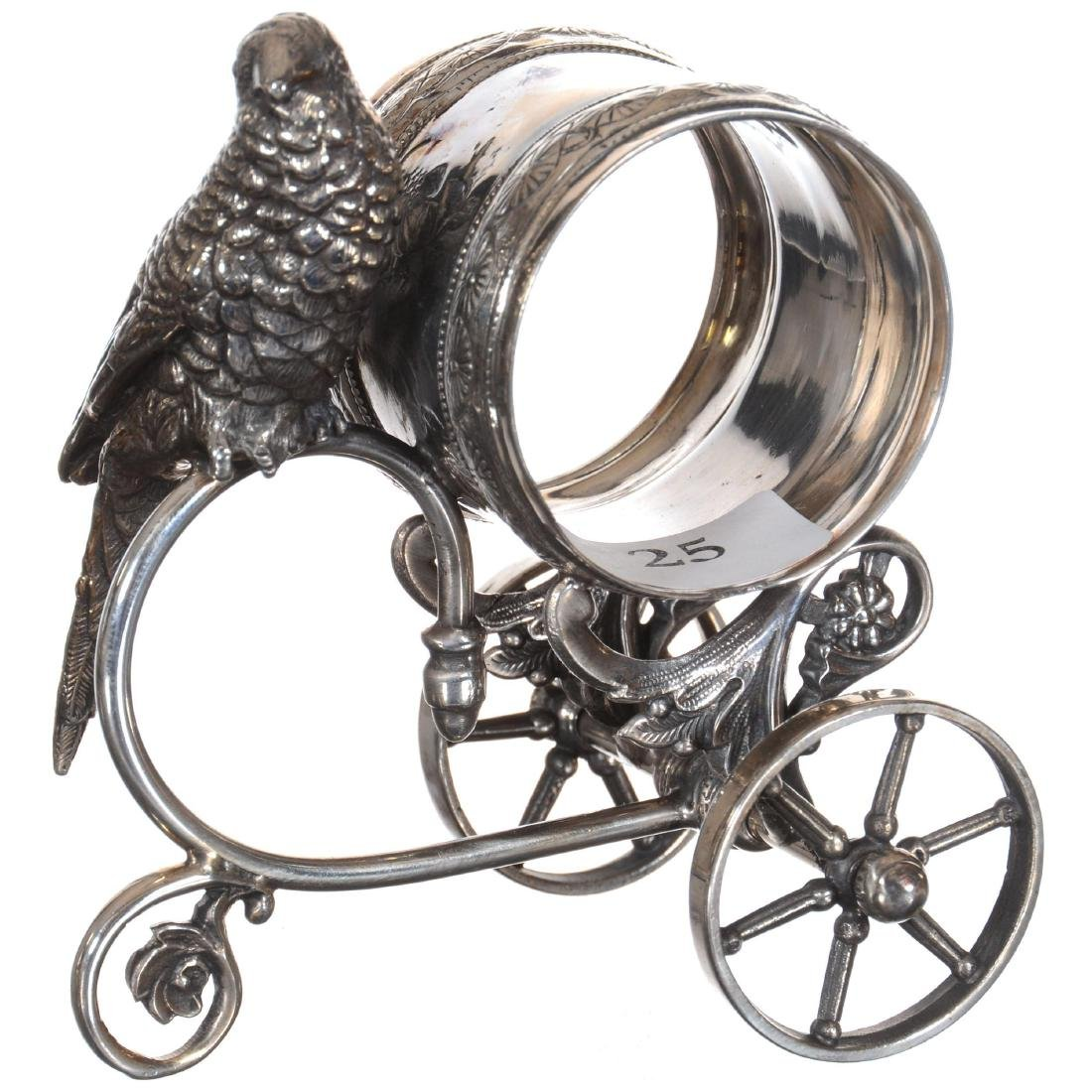 Silver-plate Napkin Ring
